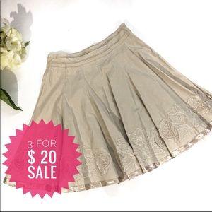 Tristan pleated skirt Sz 6